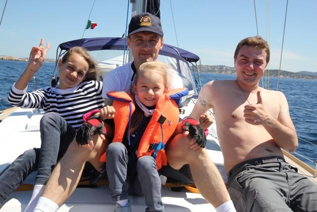 Особенности отдыха с детьми на яхте
