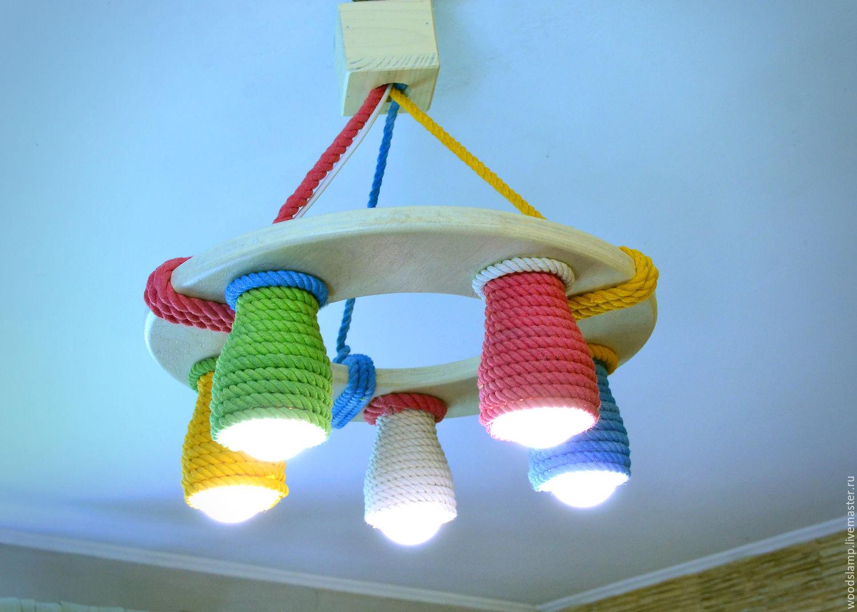 Советы по выбору основного светильника в детскую